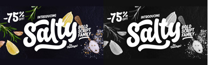Salty by Fenotype. 75% off until Feb 24.