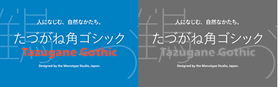 Tazugane Gothic (たづがね角ゴシック)' a Japanese typeface' comes with 10 weights. Introductory offer 50% off until March 10.