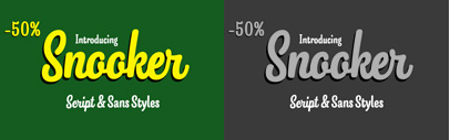 Snooker by Fenotype. 50% off until March 10.