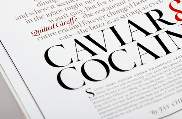 Font News Font ID: What the serif font does Town & Country ...