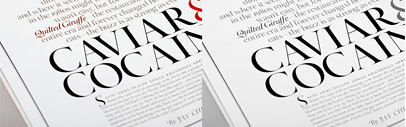Font ID: What the serif font does Town & Country Magazine use? It's Calendas by atipo.