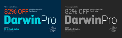 Darwin Pro by Los Andes. Darwin Pro Family is 82% off until March 24.