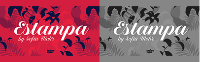 @Latinotype released Estampa Script. Estampa Script Family is 65% off until March 30.
