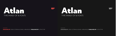 @Latinotype released Atlan. Atlan Family is 75% off until April 7.