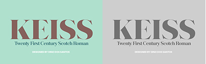 @DSType_Foundry released Keiss.