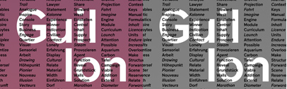Feedtype released Guillon and More Gothic. (Though they actually released them several months ago.)