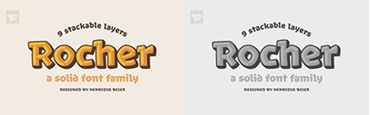 Rocher by @harbortype. 60% off until May 19.