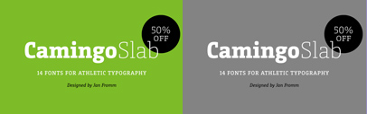 CamingoSlab by Jan Fromm. 50% off until June 16.