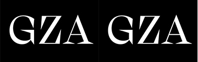Regular' Regular Italic' Bold and Super were added to Gza. RAW Bold is also available.