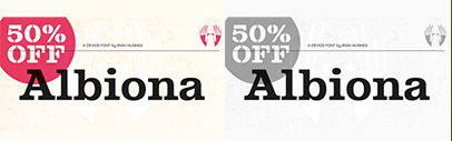 Albiona by Device. 50% off until July 2.