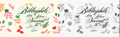 @sudtipos released Bibliophile Script. 50% off until July 22.