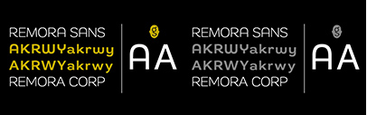 Remora Sans and Remora Corp by @gtypefoundry