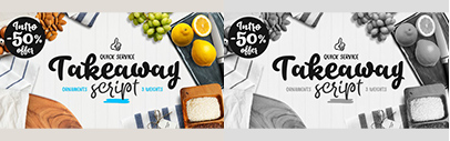 Takeaway by Fenotype. 50% off until August 25.