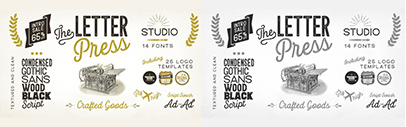 Letterpress Studio by Fenotype. 65% off until Sep 8.
