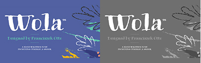 Monotype released Wola. 50% off until September 28.