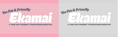 @SchizotypeFonts released Ekamai.