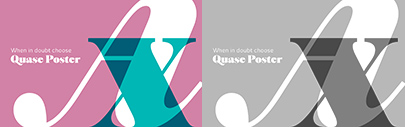 @DSType_Foundry released Quase Display' Headline' Poster' and Text.