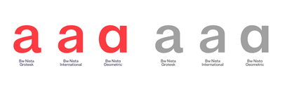 Branding with Type released Bw Nista. 70% off until October 27th.