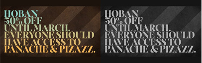Hoban' thin and bold serif fonts with swashes. 50% off till Mar 1st.