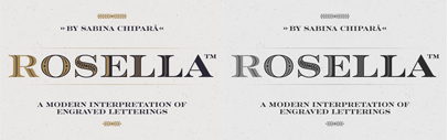 Rosella designed by Sabina Chipară. Rosella Complete Family Pack is 75% off for a limited time.
