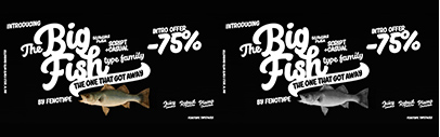Big Fish by Fenotype. 75% off until December 31.