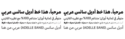 @TypeTogether released Adelle Sans Arabic.
