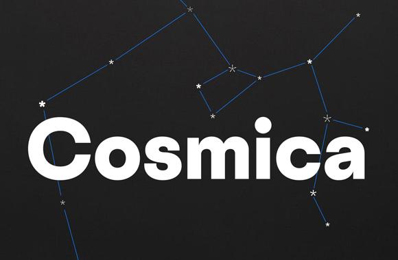 Font News [New Font Release] @vllg released Cosmica designed