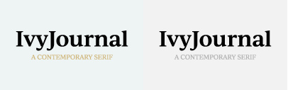 The Ivy Foundry joins Type Network and releases IvyJournal.