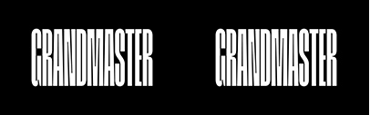 Grandmaster' a very condensed grotesque' designed by @LucasDescroix. It comes with five weights.