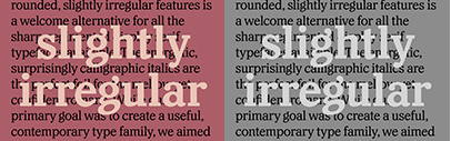 @lettersfromswe released Capitaine' a chunky slab serif based on the Adtype Series.
