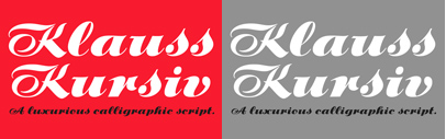 @P22TypeFoundry released Klauss Kursiv. 30% off until March 20.