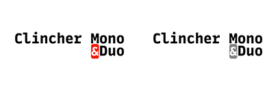 @ParaTypeNews released Clincher Mono and Clincher Duo. Introductary offer: $5 per style.