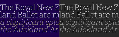 Foro Rounded' a rounded slab serif typeface by Hoftype.