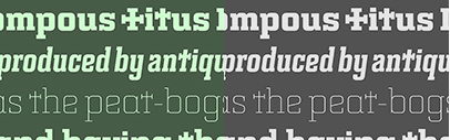 @BarnbrookFonts released Bourgeois Slab.