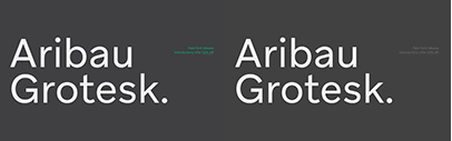 @emtype released Aribau Grotesk.