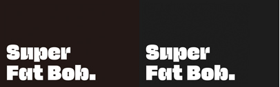 Super Fat Bob by  @jb_morizot was added to @futurefonts.