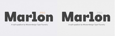 @mostardesign released Marlon Pro.