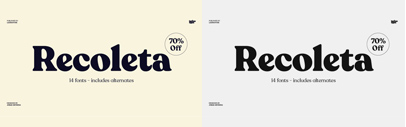 @Latinotype released Recoleta.