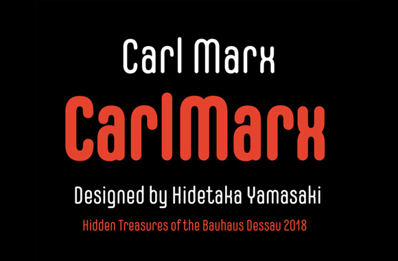 Font News [New Font Release] CarlMarx was added to Adobe's