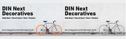 Monotype released DIN Next Decoratives.