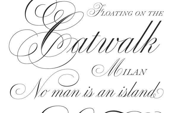 Font news new font release medusa an elegant and beautiful script