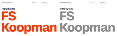 @Fontsmith released FS Koopman.