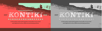 @Floodfonts released Kontiki.