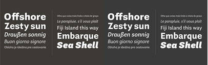 Guanabara Sans' a new grotesque' by Plau Type Foundry