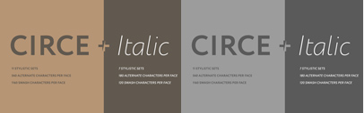 Paratype added italics to Circe.