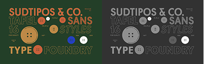 Sudtipos released Tafel Sans Pro designed by Alejandro Paul.