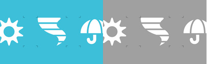 SS Forecast by Symbolset: a comprehensive collection of weather symbols by Jory Raphael.