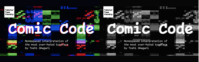 Tabular Type Foundry released Comic Code.