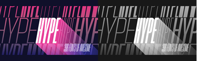 Positype released Hype. It comes with 396 fonts that spans 18 widths and 11 weights.