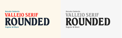 Estudio Calderon released Vallejo Serif Rounded.